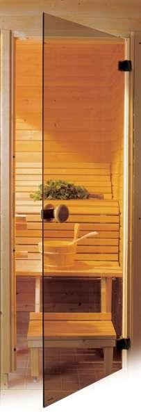 Дверь стеклянная для сауны 69х189см