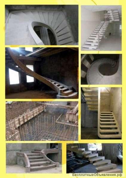 Эксклюзивные монолитные лестницы