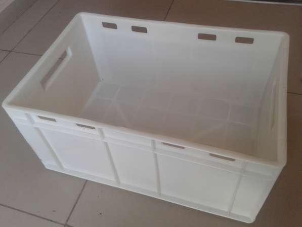 Ящик пластиковый молочный