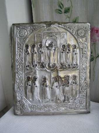 Cтаринную икону-Покрова Пр.Богородицы-XIXв
