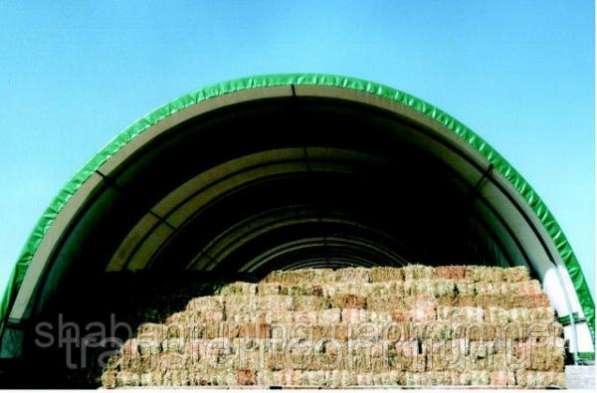 Сенохранилища: быстро возводимые легкие конструкции