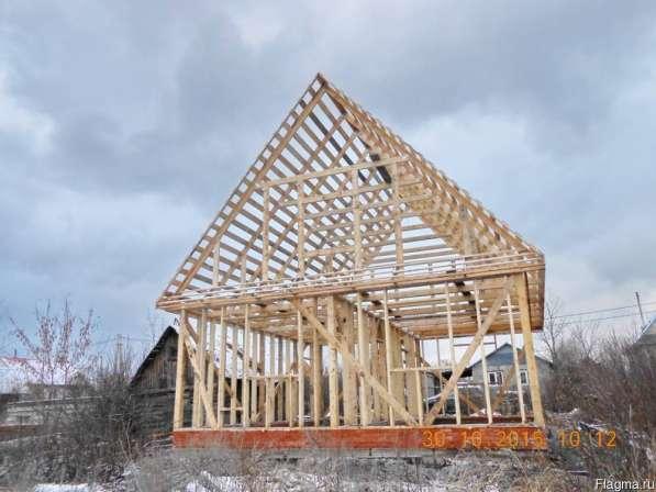 Строительство каркасных домов, дач, бань