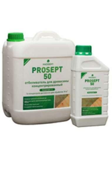 PROSEPT 50 - отбеливатель для древесины