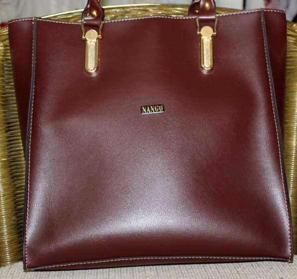 Вместительная модная сумка
