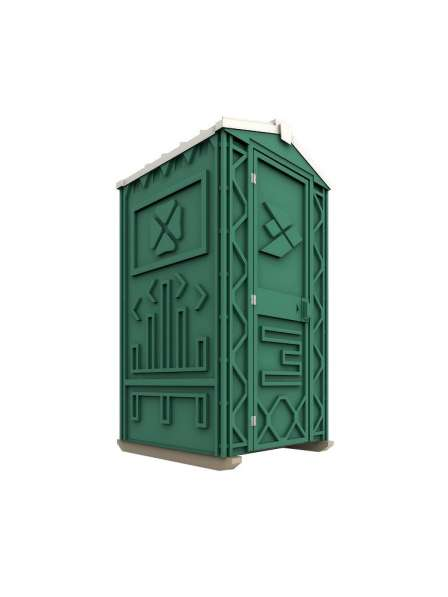Новая туалетная кабина Ecostyle - экономьте деньги! Афины в фото 7
