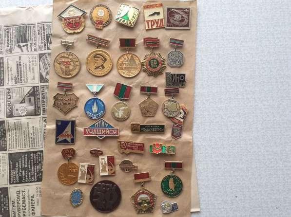 Коллекция. Значки и медали. 4000 шт в фото 8