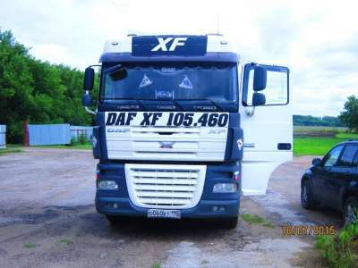 седельный тягач DAF FT XF105 460