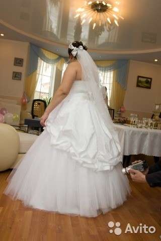Свадебное плате