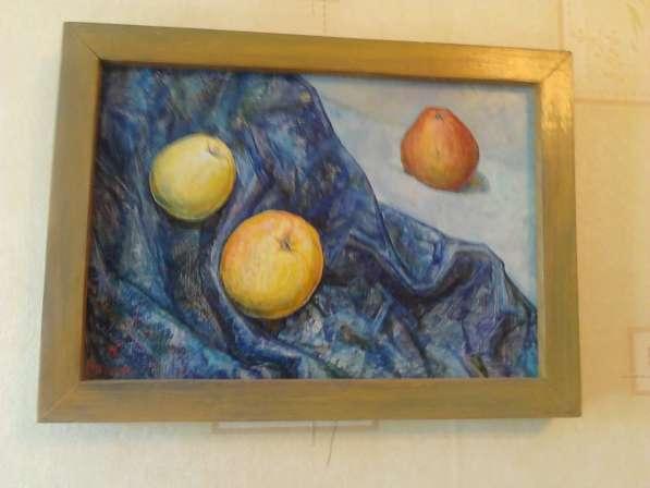 Картина яблочный спас, авторская