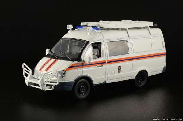 """автомобиль на службе №37 Газ-2705 """"Газель"""" АСМ МЧС"""