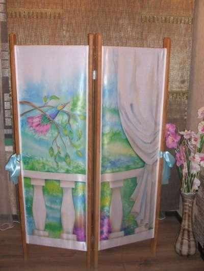 Роспись по ткани-батик