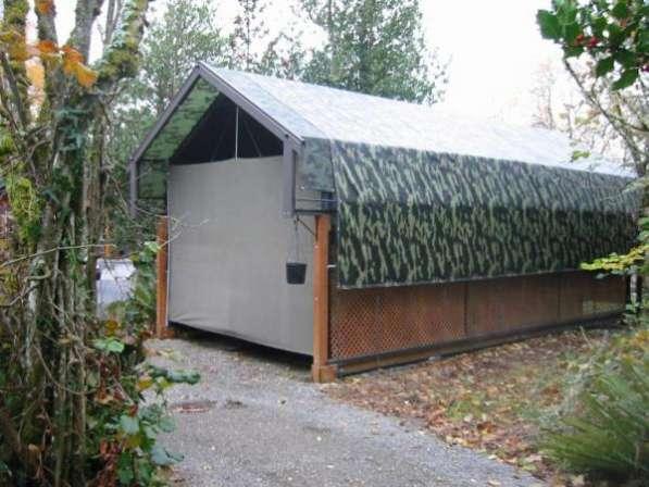 Палатка из ПВХ камуфляж