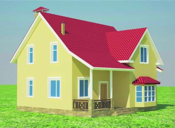 Архитектурно-дизайнерское проектирование жилых домов 494-157