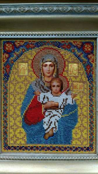 """Икона Бисером """" Пресвятая Богородица """""""