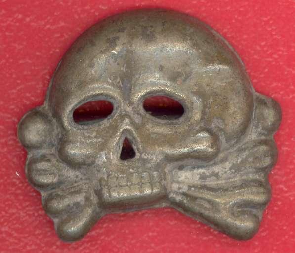 Германия кокарда Мертвая голова Der tote Kopf