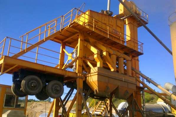 Мобильный асфальто-бетонный завод 64 тонн/час