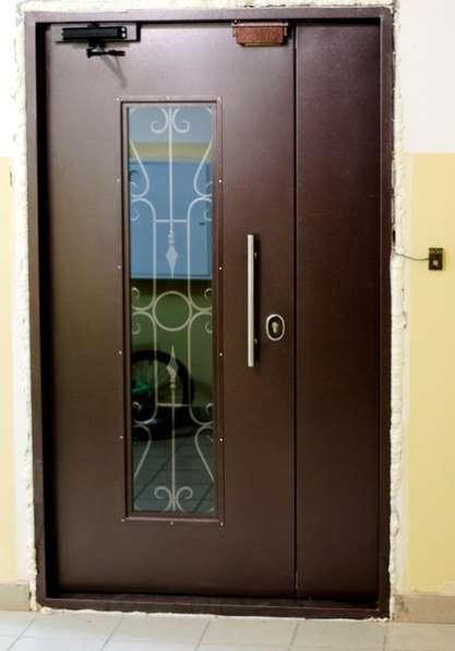 Двери подъездные; домофона и тамбурные в Новосибирске фото 4