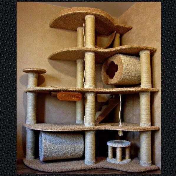Изготовление комплексов и домиков для кошек на заказ в Ростове-на-Дону фото 4