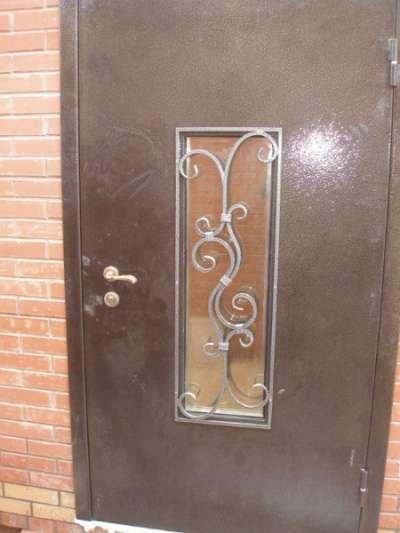 Железные входные двери на заказ
