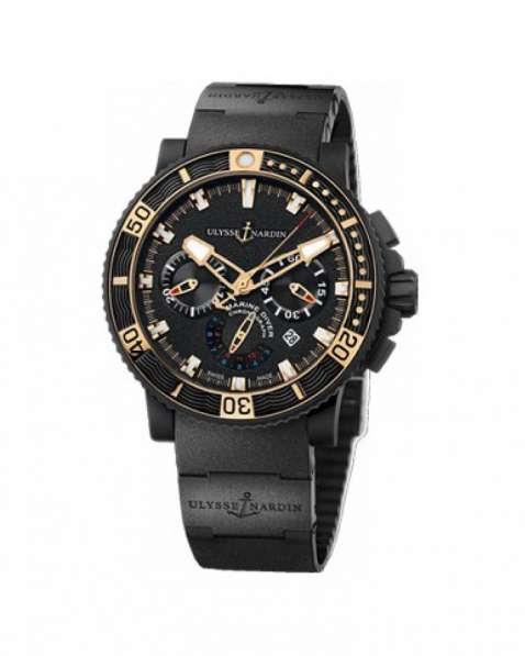 Оригинальные часы Ulysse Nardin Maxi MarineDiver Chronograph