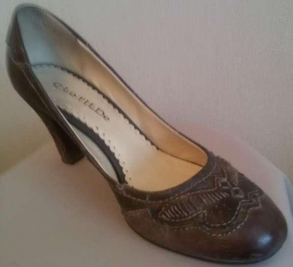 Туфли, натуральная кожа, р-38