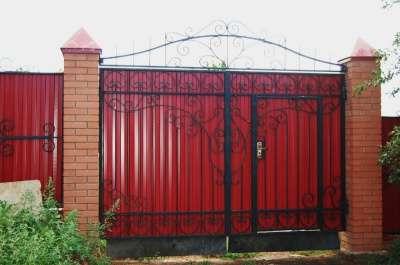 Ворота, заборы, оконные решетки козырьки