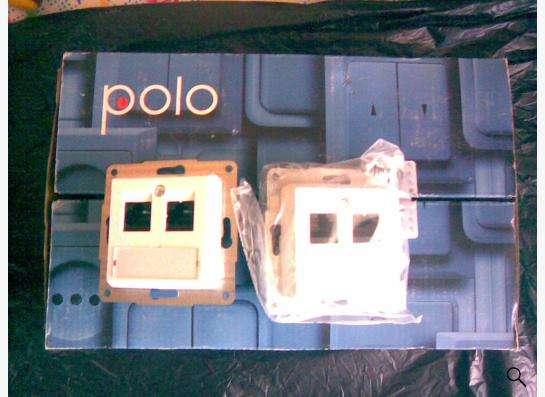 Компьютерные розетки Polo Optima