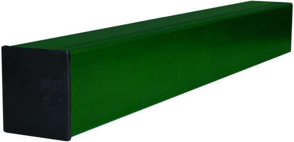 Столб с полимерным покрытием 60*40*1500мм
