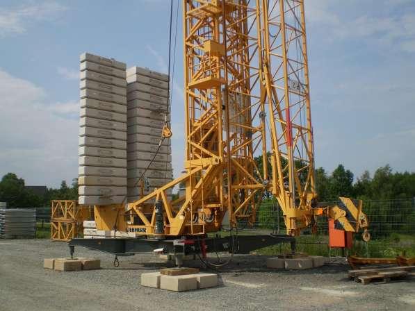 Быстромонтируемый башенный кран LIEBHERR 71 K сдам в аренду