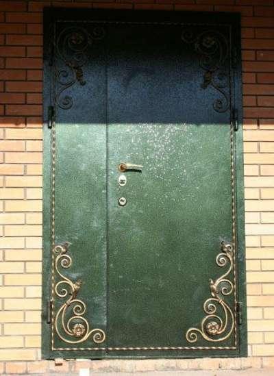 Изготовление кованных , дверей, решёток