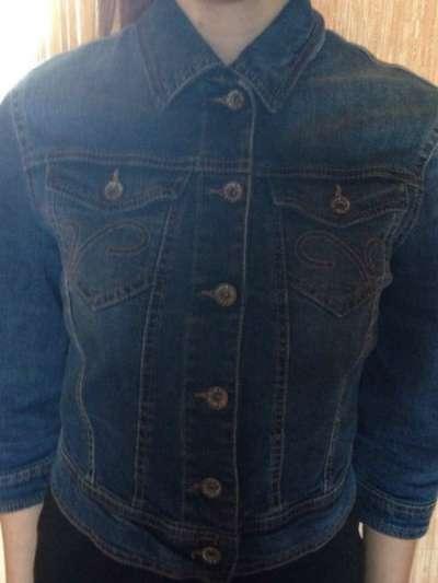 Джинсовая куртка для девочки SISLEY