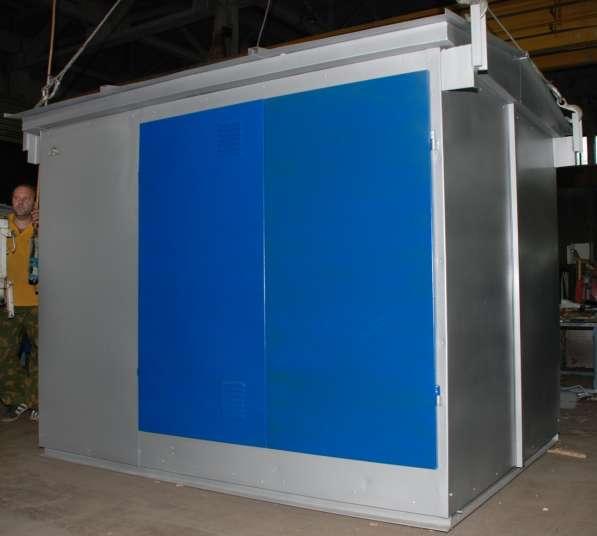 Киосковые трансформаторные подстанции мощностью 25 - 630 кВА