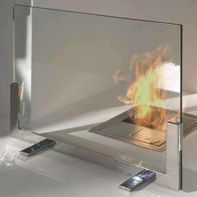 Стекло для каминов и печей ROBAX / Огнестойкое стекло