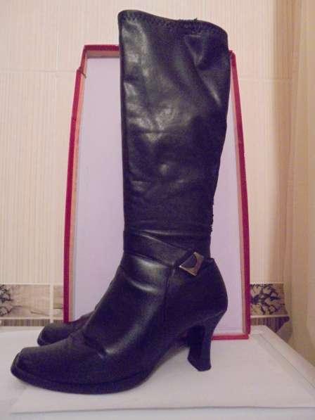 Сапоги-чулки, черные, размер 39