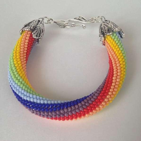 Радужный браслет