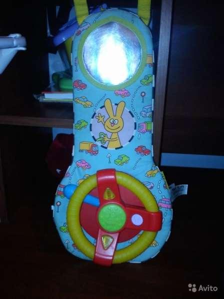 TAF toys музыкальный руль для игры В автомобиле