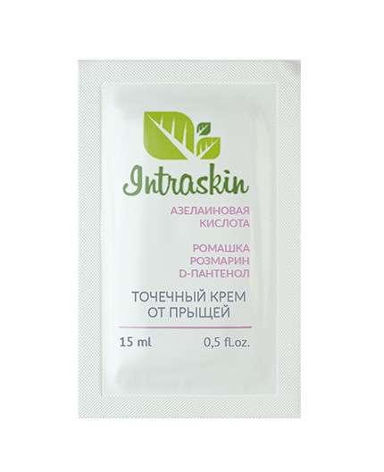 Точечный крем от прыщей Intraskin