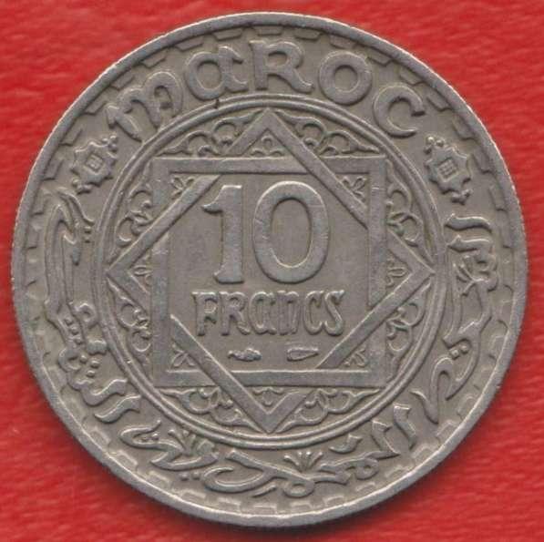 Марокко Французское 10 франков 1947 г.