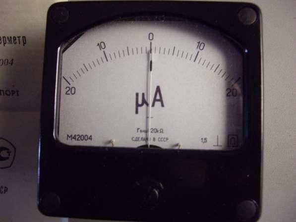 Микроамперметр М4204 2 штуки. в Челябинске