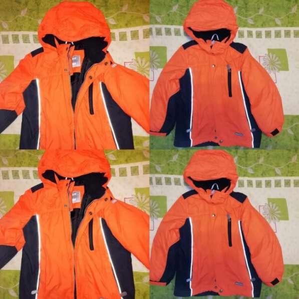 Куртка оранжевая LENNE сезон весна- осень (на тонком синтеп