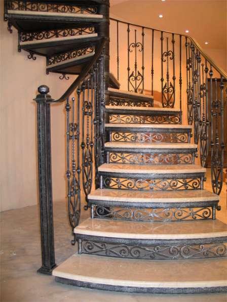 Кованые лестницы в Воронеже фото 4