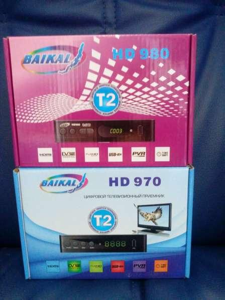 Цифровая приставка DVB T2 Байкал 980HD