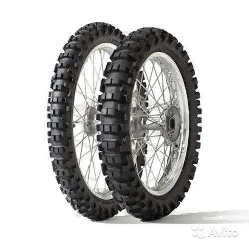 Новые Dunlop 120/80-19 63M