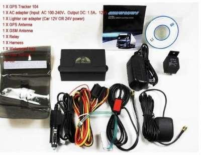 АВТОМОБИЛЬНЫЙ GPS/GSM ТРЕКЕР TK – 104