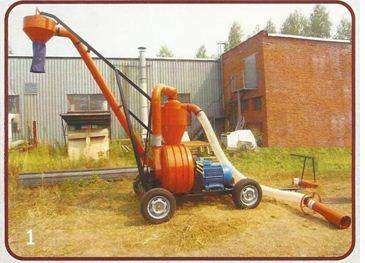 Пневматический транспортёр Зерна П-40 (40 т/ч)