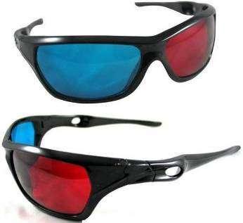 Анаглифные 3D очки для обычного монитора. Доставка по России без предоплаты
