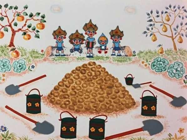 Картофель мешками