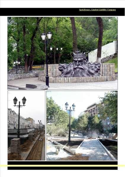 Фонари, и столбики, для парков, скверов, дорог во Владивостоке в Владивостоке фото 12