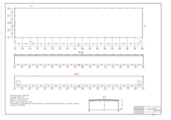 Металлоконструкции каркасы зданий, ангаров, складов, грузово