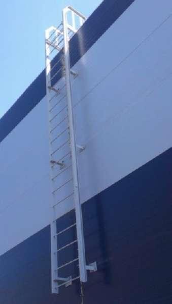 Металлоконструкции, эвакуационных, пожарных, лестниц